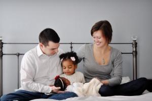 Garlington family Photo (photo credit: mybrownbaby.com)