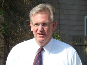 Jay Nixon out canvassing doors in St. Joseph, MO With Working America. Photo: Bernard Pollack