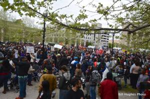 Protest For Freddie Gray (photo by Bill Hughes)